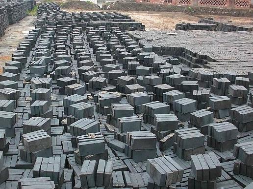 烧制砖窑的弊端影响仿古青砖的质量和产量